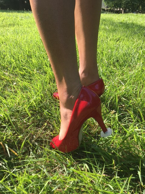 how to make your own heel protectors