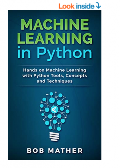 Best books for machine learning in python by Bob Mather